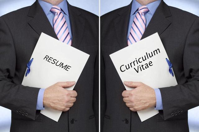 Resumes vs CV vs Bio Data vs Cover Letter Whats the difference