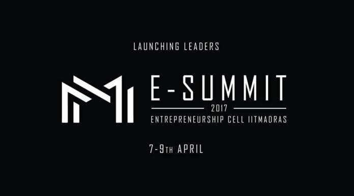 e summit banner iit madras 2017