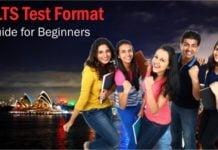 IELTS Test Format - speaking, listening, reading & writing