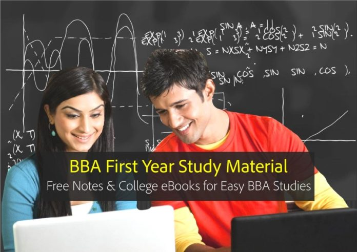 BBA First year Notes, eBooks PDF Download