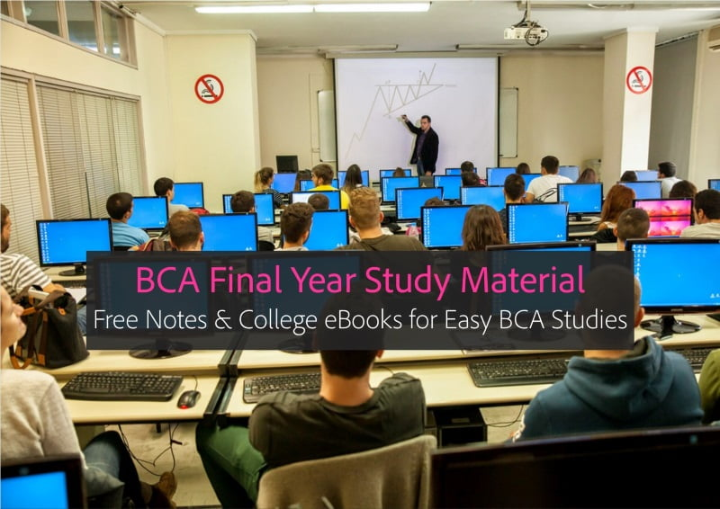 Bca Third Year Subjects Notes And Ebooks Free Easy Pdf Study