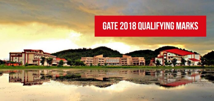 gate 2018 qualifying marks and cut off