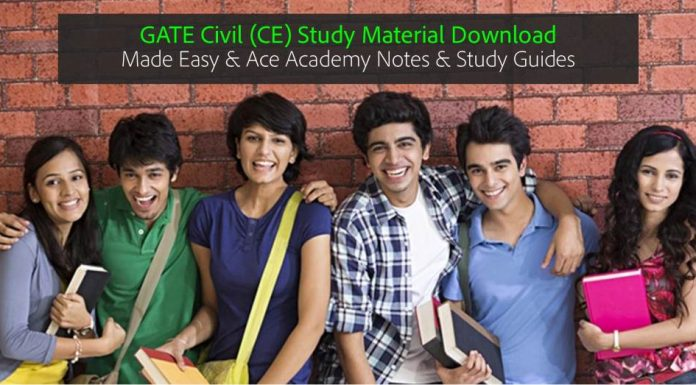 GATE CE Civil Engg. Made Easy Ace Academy Notes and eBooks Download