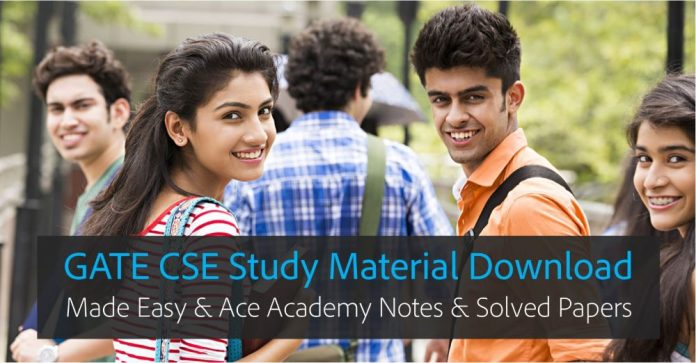 GATE CS Computer Science Made Easy Ace Academy Notes and eBooks Download