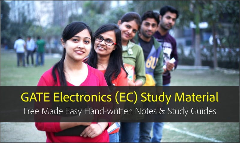 Gate ece (electronics) made easy pdf hand written notes, books.