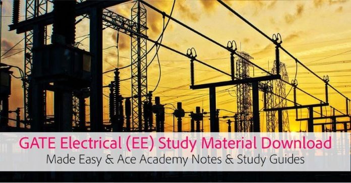 GATE EE Electrical Engg. Made Easy Notes and eBooks Download