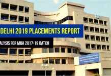 DMS IIT Delhi MBA Placement 2019 Report MBA