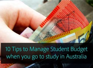 10 Tips to Manage Student Budget when you go to study in Australia