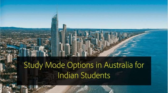 Study Mode Options in Australia for Indian Students