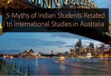5-Myths of Indian Students Related to International Studies in Australia