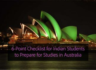 6-Point Checklist for Indian Students to Prepare for Studies in Australia