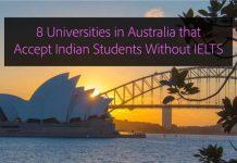 8 Universities in Australia that Accept Indian Students wihtout IELTS