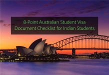 8 point australia student visa document checklist for indian students
