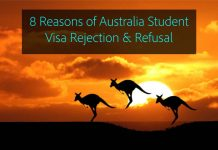 8 reasons of australia student visa rejection and refusal