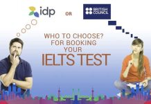 IDP vs British Council for IELTS test